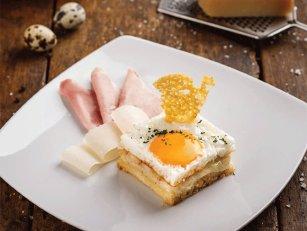 Otvoreni sendvič sa jajima
