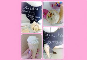 Sladoled od banana Delimano