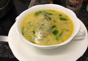 Supa od leblebija i blitve
