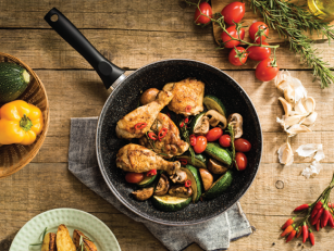 Zapečena piletina sa povrćem