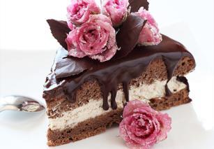 Torta od hurmi, čokolade i kafe