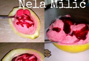 Brzi sladoled od jagode