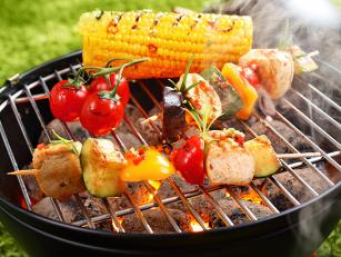 Ražnjići sa piletinom i povrćem