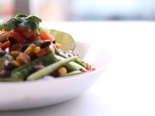 Salata sa crnim grahom