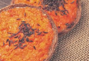 Sklandrausis - pita od mrkve