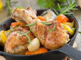Sočna piletina sa povrćem