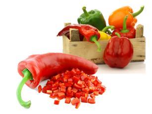 Salata od pečenih roga paprika