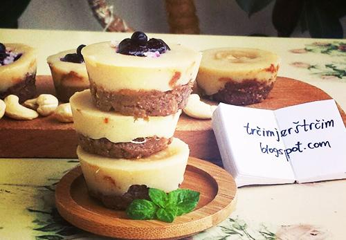 "Bezglutenski ""cheesecake"""