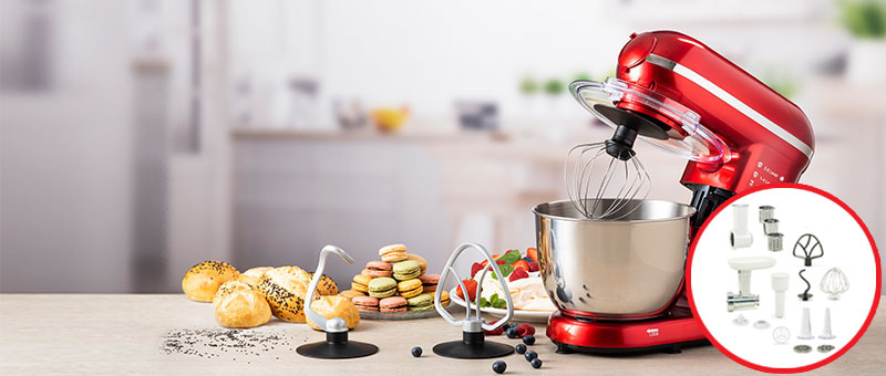 Kuhinjski robot s dodacima!