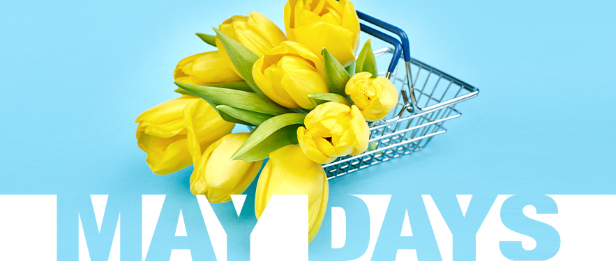 May days akcija se uskoro završava!