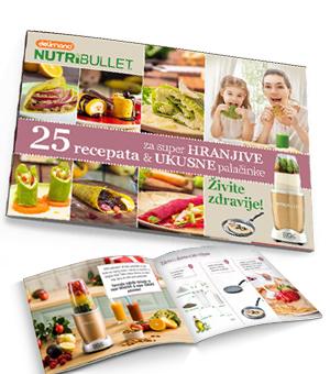 Nutribullet 25 recepata za super hranjive i ukusne palacinke