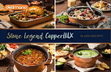 Stone Legend CopperLUX slasni recepti